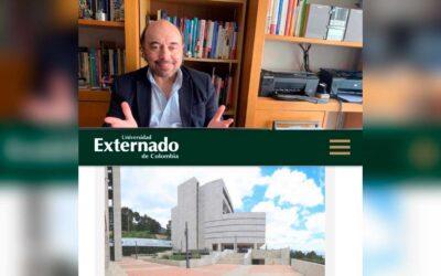 Sesiones en el Máster en Comunicación Política, en Colombia
