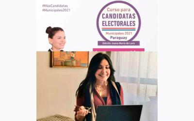 Curso para candidatas electorales