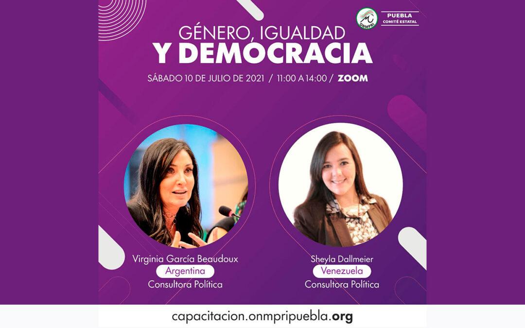 Sesión con lideresas políticas en México